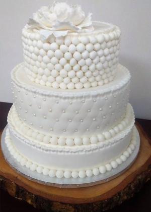 Tort weselny - Cukiernia Moja Bajka